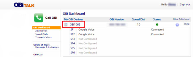 OBiTALK: Best-Selling VoIP Home Phone Service with Google